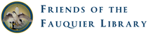 Friends of the Fauquier Library logo